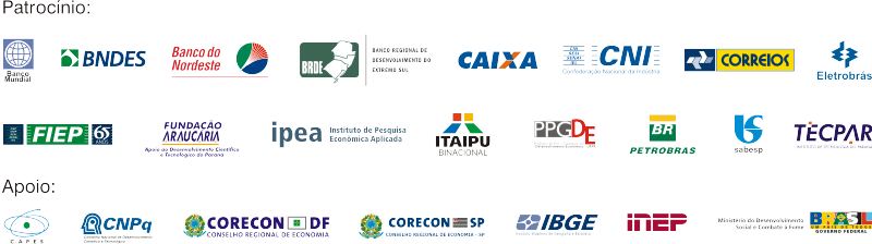 Patrocinadores do Encontro